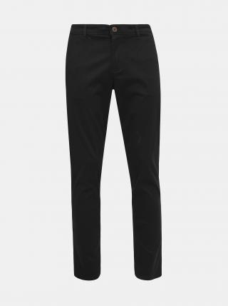 Čierne chino nohavice Jack & Jones Marco pánské čierna M