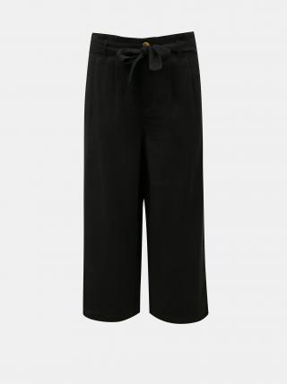 Čierne culottes so zaväzovaním ONLY Aminta dámské čierna L