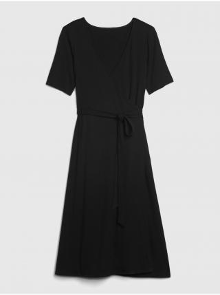 Čierne dámske šaty GAP dámské čierna XS
