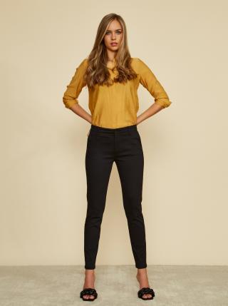 Čierne dámske slim fit nohavice ZOOT Baseline Heather dámské čierna L
