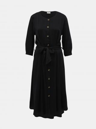 Čierne košeľové šaty Jacqueline de Yong Hea - S dámské čierna S