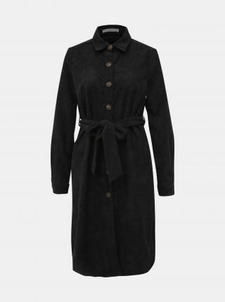 Čierne menčestrové košeľové šaty Haily´s Marie - XS dámské XS