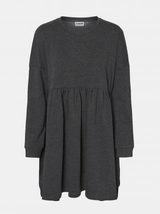 Čierne mikinové šaty Noisy May Nelli dámské čierna XS