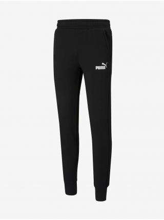 Čierne pánske tepláky Puma Ess Slim Pants FL pánské čierna L