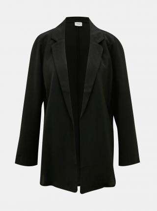 Čierne sako Jacqueline de Yong Tilo dámské čierna S