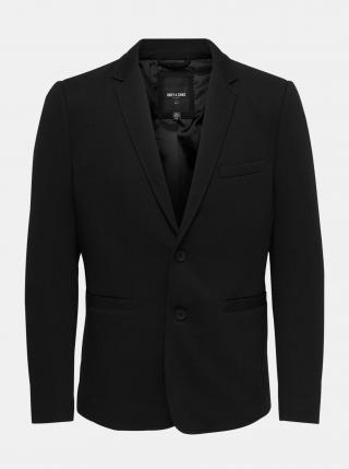 Čierne sako ONLY & SONS Matti pánské čierna L