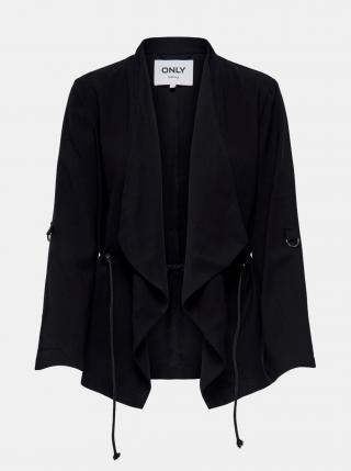 Čierne sako ONLY Malena dámské čierna XS