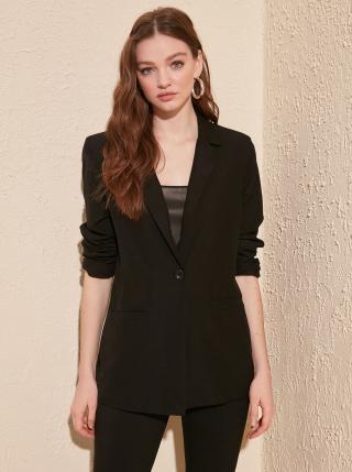 Čierne sako Trendyol - XS dámské čierna XS