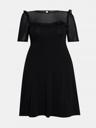 Čierne šaty Dorothy Perkins Curve dámské čierna 46