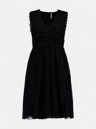 Čierne šaty Haily´s dámské čierna L