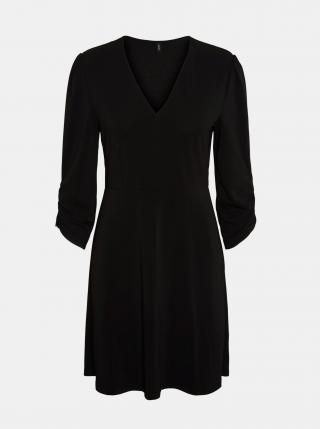 Čierne šaty VERO MODA Alberta dámské čierna M