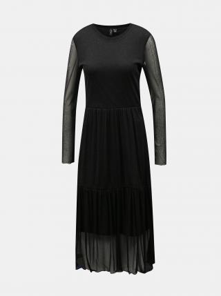 Čierne šaty VERO MODA Aurora dámské čierna XS
