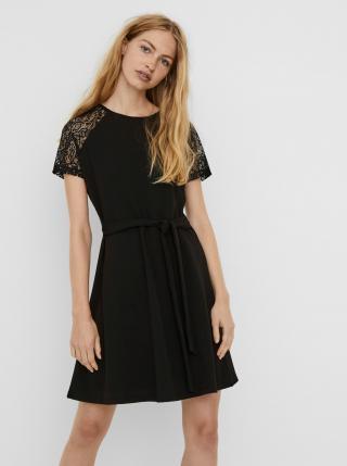 Čierne šaty VERO MODA Jasmine dámské čierna L