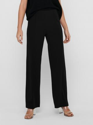 Čierne široké nohavice Jacqueline de Yong dámské čierna XS
