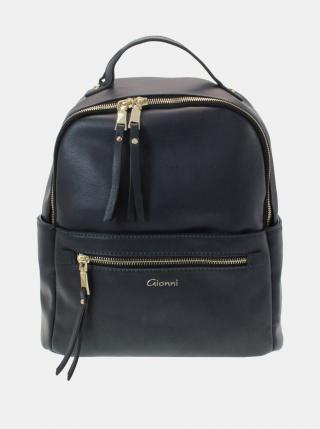 Čierny batoh Gionni dámské čierna