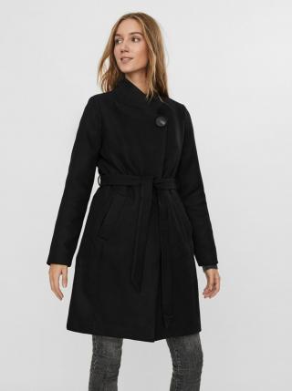 Čierny kabát VERO MODA dámské čierna M