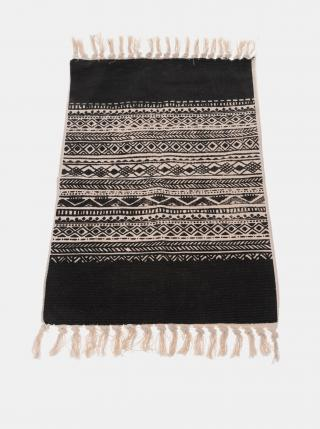Čierny koberec Dakls čierna