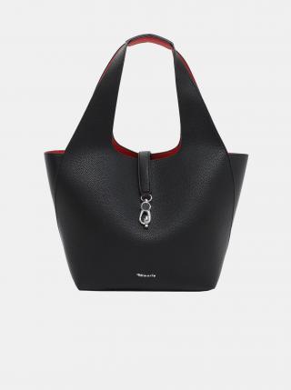 Čierny obojstranný shopper s odnímateľným púzdrom Tamaris dámské čierna