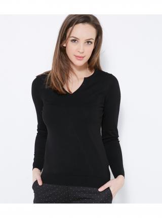 Čierny sveter CAMAIEU dámské čierna S
