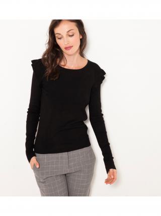 Čierny sveter CAMAIEU dámské čierna XL