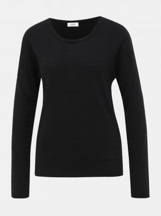 Čierny sveter Jacqueline de Yong Gadot dámské čierna XS