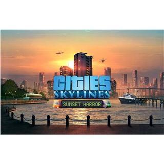 Cities: Skylines - Sunset Harbor - PC DIGITAL