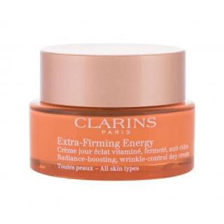 Clarins Extra-Firming Energy 50 ml denný pleťový krém pre ženy na veľmi suchú pleť; na unavenú pleť; proti vráskam; na rozjasnenie pleti; Prírodný dámské 50 ml