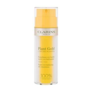 Clarins Plant Gold Nutri-Revitalizing Oil-Emulsion 35 ml denný pleťový krém na veľmi suchú pleť; výživa a regenerácia pleti; na dehydratovanu pleť dámské 35 ml