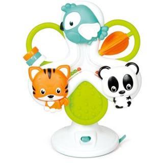 Clementoni Baby interaktivní volant - kolotoč se zvířátky