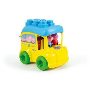Clementoni Clemmy baby - Peppa Pig - školní autobus