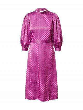 Closet London Kokteilové šaty  fuksia / svetlomodrá dámské 40