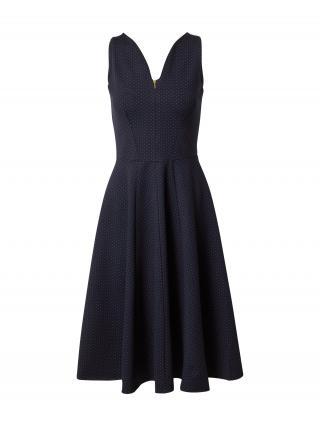Closet London Kokteilové šaty  zlatá / námornícka modrá dámské 36