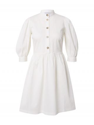 Closet London Košeľové šaty  biela dámské 38