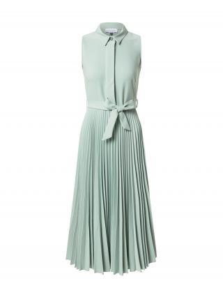 Closet London Košeľové šaty  mätová dámské 40