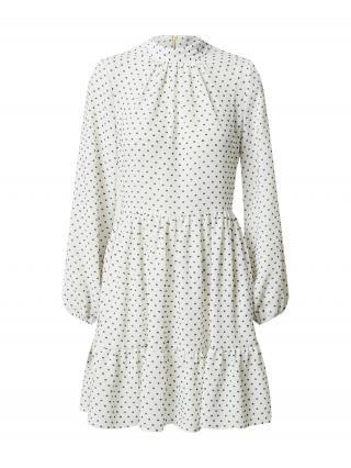 Closet London Košeľové šaty  šedobiela / čierna dámské 42
