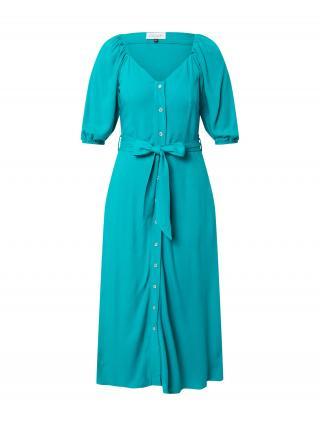 Closet London Košeľové šaty  tyrkysová dámské 36