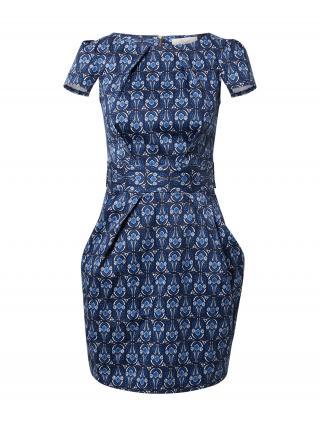 Closet London Šaty  námornícka modrá / dymovo modrá / kráľovská modrá / biela dámské 44
