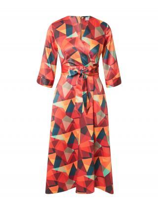Closet London Šaty  oranžová / zmiešané farby dámské 44