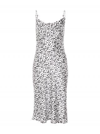 Closet London Šaty  šedobiela / čierna dámské 38