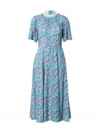 Closet London Šaty  zmiešané farby / nebesky modrá dámské 36