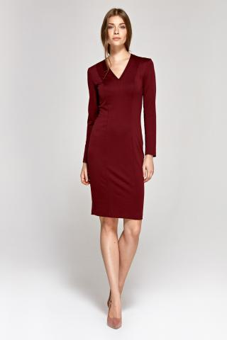 Colett Womans Dress Cs12 dámské Claret 36