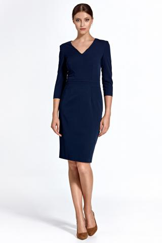 Colett Womans Dress Cs23 Navy Blue dámské 36