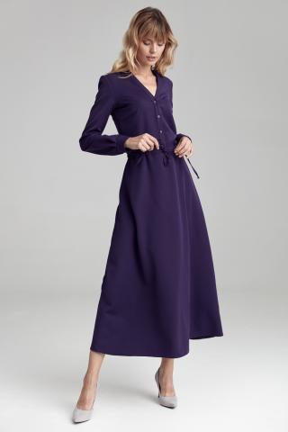 Colett Womans Dress Cs40 Violet dámské Purple 36