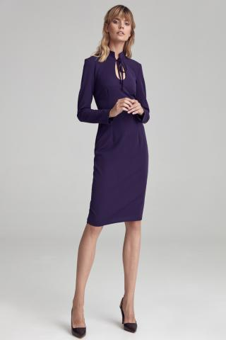 Colett Womans Dress Cs42 Violet dámské Purple 36