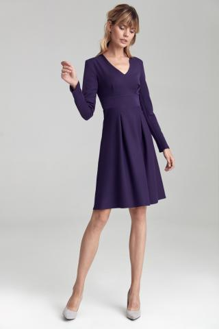 Colett Womans Dress Cs43 Violet dámské Purple 36