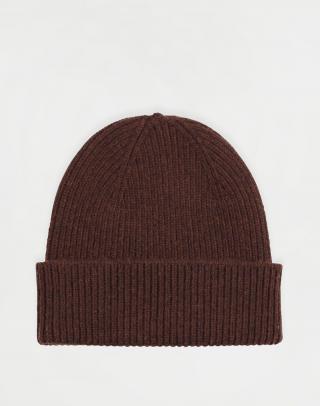 Colorful Standard Merino Wool Hat Coffee Brown Hnedá