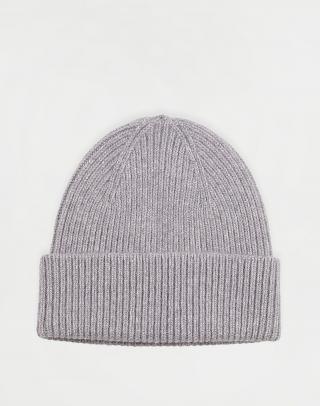 Colorful Standard Merino Wool Hat Heather Grey Šedá