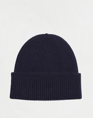 Colorful Standard Merino Wool Hat Navy Blue Modrá