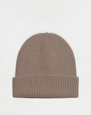 Colorful Standard Merino Wool Hat Warm Taupe Béžová