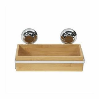 Compactor Bambusová polička do kúpeľne Bestlock SPA Bamboo, 27,6 x 14,8 x 12,7 cm
